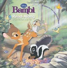 Bambi Read-Along Storybook and CD -- Details can be found by clicking on the image.