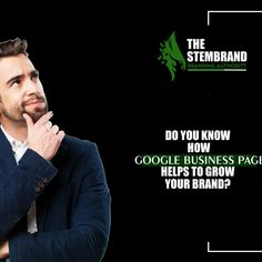 Getting in with @google = GROWTH 💵📈 — attract customers that are hot leads with a stable business presence on Google 📱 Anyone with a business can register easily! @Stembrand_ We help businesess to gain hot leads via their visual impressions. DM your contact details in message section: To know more you can join us via whatsapp only: +91-9999352988 Or email: Thestembrand@gmail.com   #MarketingTips #OnlineAgency #MarketingAgency #GoogleBusiness #GoogleMyBusiness #GoogleListening Role Of Digital Marketing, Marketing Pdf, What Is Digital, Tv Ads, How To Attract Customers, Build Your Brand, Online Advertising, Business Pages, Influencer Marketing