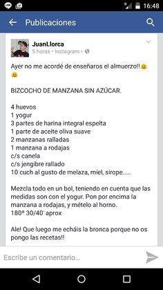 Bizcocho Juan llorca