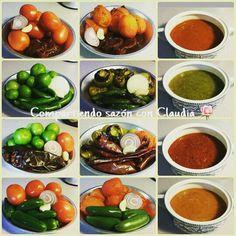 Salsa Mexican Salsa Recipes, Mexican Menu, Mexican Dishes, Fresh Salsa Recipe, Vegan Meal Prep, Honey Recipes, Cooking Recipes, Healthy Recipes, Love Food