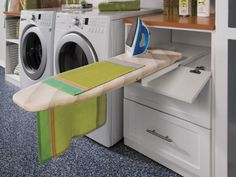 Pull-out ironing board from transFORM.