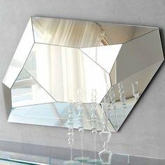 Diamond Wall Mirror by Paolo Cattelan 1.500 dol fancy