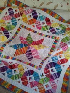 Scrap Happy Star Quilt