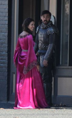 Liam Garrigan and Joana Metrass - Behind the scenes - 5 * 5 - 21 August 2015 #OUAT5