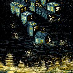 JAMES R. EADS - broken light in the dark of night