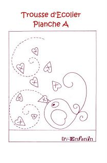 cre enfant - Rosella Horst - Álbuns da web do Picasa Embroidery Cards, Machine Embroidery Applique, Hand Embroidery Patterns, Applique Patterns, Applique Quilts, Cross Stitch Embroidery, Happy Paintings, Doodle Designs, Creation Couture