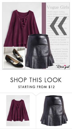 """""""Rosegal 26/ I"""" by emina-095 ❤ liked on Polyvore"""