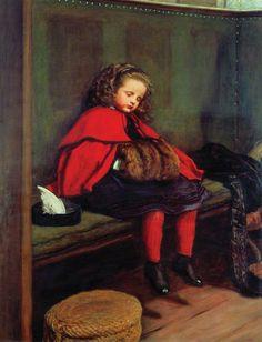 My Second Sermon de John Everett Millais.