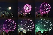 A few more tips on shooting fireworks with a DSLR camera - and tripod!!
