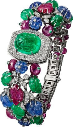 3823b831063 Cartier - High Jewelry figurative watch - White gold
