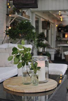 Annas: Time to light up Backyard, Patio, Light Up, Planting, Table Decorations, Interior, Balcony, Home Decor, Decor Ideas