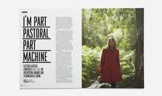 Part Pastoral Part Machine #Layout #Design #Magazine #Editorial
