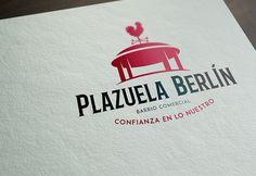 Diseño de Imagen de Marca para BARRIO PLAZA BERLIN. Programa Barrios Comerciales de Sercotec.