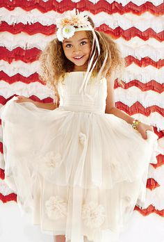 Wedding Attire for Children +Flower Girl Dresses+ Watters Girls Collection Little Girl Dresses, Flower Girl Dresses, Flower Girls, Flower Girl Hairstyles, Wedding With Kids, Wedding Styles, Wedding Ideas, Wedding Planning, Wedding Inspiration