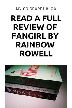 READ THE FULL REVIEW ON MY BLOG!!!  #book #bookstagram #books #booreview #bookreviews #bookquotes #fangirl #fangirlbook #rainbowrowell #bookcover #bookcovers #bookobsessed #bookaddicted #bookholic #blog #reviews #read #reads #reading #thingstodo #bookstoread #blogg #blogger #blogging #cath #taylorswift #harrypotter #fandom #blue