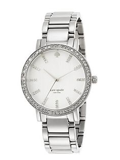 This will be my next watch... Silver Kate Spade, please!