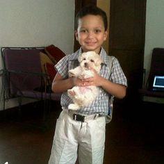 Hijo mío, cuánto has crecido? A pesar de ello tu linda sonrisa y tierna mirada siguen siendo las mismas. Dogs, Animals, Palmyra, Shutters, Animaux, Doggies, Animal, Animales, Pet Dogs