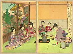 The drinking of tea was a practice of the Chinese and was adapted by the Japanese around the Tang Dynasty in China (618-907). History of the Tea Ceremony | Japanese Tea and Tea Ceremonies http://www.midcoastexchange.com/2014/history-of-the-tea-ceremony/