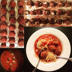 Meatball Monday! It doesn't get much better than my homemade sauce and mozzarella stuffed meatballs!  @cappellos noodles are gluten free AND paleo!  #paleo #organic  #grassfed #grainfree #glutenfree  #homemade #instafood #lachef #lowcarb #lafoodie #meateater #foodlover #foodnetwork #protein #paleohealth #paleokitchen #skinnygirl #wholefoods #paleogirl #cookingchannel  #foodie #healthy #italianfood #pasta by jacquelynsjones