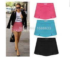 2014 Mulheres Fishtail Skirt Estilo Europeu cores cintura alta Flouncing doces Slim saia de chiffon Mulheres Saias 3 cores Tamanho S -XXL US $10.99