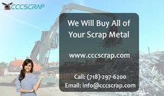 New York is great City to earn top prices for Scrap metal but it varies from scrap yard. So if you plan to sell your trash in order to receive treasure then contact CCC Scrap, a renowned scrap yard which pays top dollars in return. Scrap Recycling, Recycling Process, Manhattan City, Recycling Services, Metal Prices, Waste Paper, Yards, How To Remove, How To Plan