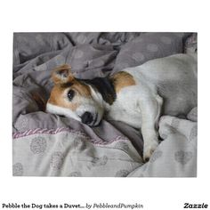 Pebble the Dog takes a Duvet Day Jigsaw Puzzle