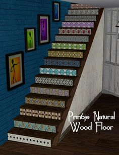tile basement stair risers
