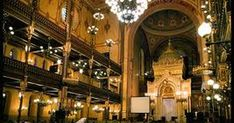 The largest in Europe and the fifth largest in the world, the Great Synagogue was built in 1854. It's architecture is in the Moorish Revival style, with decorations from Islamic models from ...