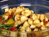 Greek Panzanella Salad. Amazing summer recipe w grilled chicken sliced over the top. Ina Garten's recipe is the best.