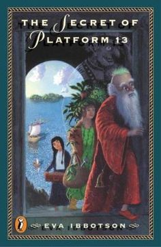 Secret of Platform 13 by Eva Ibbotson. Odge Gribble, a young hag, joins an old wizard, a gentle fey, and a giant ogre on a journey from their magical kingdom to London to rescue the young prince who was stolen as an infant nine years before.