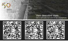 Venha descobrir mais... Use a aplicação barcode do seu smartphone.