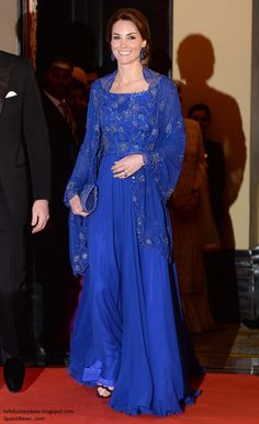 In Jenny Packham for Gala hosted by British High Commission April 10, 2016