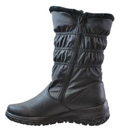 Totes Women's Madina Double Zip Snow Boot, Available In Wide Width and Wide Calf * You can find more details by visiting the image link.
