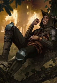 m Rogue Assassin CN evil tendencies lvl Med Armor burning Manor House Farmland hills mixed forest High Fantasy, Fantasy Rpg, Medieval Fantasy, Fantasy Artwork, Fantasy Heroes, Fantasy Warrior, Character Concept, Character Art, Concept Art