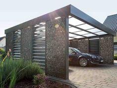 Modern style carport #garagesandcarports