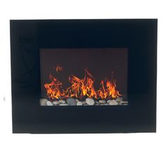 36 Quot Wall Mount Electric Fireplace At Big Lots Home