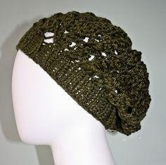 Erin Elizabeth Hand Knitted Slouch Hat