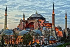 Hagia Sophia Church, Istanbul's basilica of the Byzantine Empire, is being converted into a mosque again for Ramazan