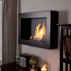Anywhere Fireplace Soho Black Satin Anywhere Indoor Fireplace