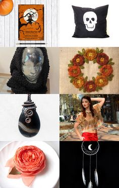 Halloween and Thanksgiving by Yvi on Etsy--Pinned with TreasuryPin.com