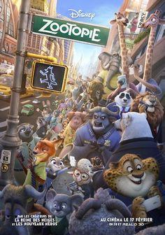 Critique de Zootopie en salles le 17 février 2016 via Walt Disney France