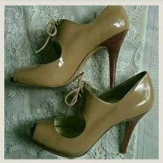 Guess by Marciano Tan Heels Tan Heels, Stiletto Heels, On Shoes, Shoes Heels, Guess Bags, Guess By Marciano, Beautiful Shoes, Fashion Design, Fashion Tips