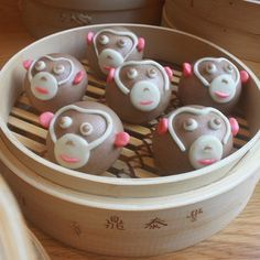 Usher in the Year of the Monkey with these adorable choc-banana buns from @dintaifungaustralia  available from tomorrow  Hit the link in our profile for more #Melbourne Chinese New Year celebrations including the city's first @lunarmarkets (perfect for fans of @goodfoodmonth #nightnoodlemarkets) #chinesenewyear2016 #lunarnewyear #banquet #yearofthemonkey #chinesenewyear
