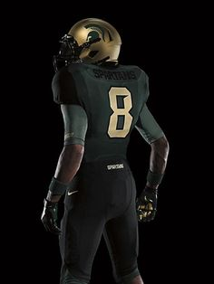 Michigan State's 2011 Nike Pro Combat - love the font they used for the number