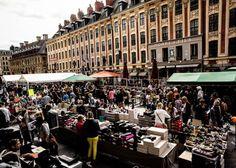Grande Braderie Lille - gilbert vasseur - Braderie (Flea Market) Lille 2  Find Super Cheap International Flights to France ✈✈✈ https://thedecisionmoment.com/cheap-flights-to-europe-france/