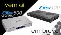 Lançamento Globalsat Gs500 e Gs120 Androide 4k