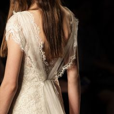 Intricate details of the Venetia gown.