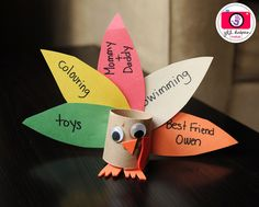 Page 3 - 16 Thanksgiving Decorations That Kids Can Make I Thanksgiving Crafts for Kids - ParentMap Thanksgiving Crafts For Kids, Thanksgiving Activities, Fall Crafts, Holiday Crafts, Holiday Fun, Thanksgiving Turkey, Festive, Holiday Parties, Christmas Holidays