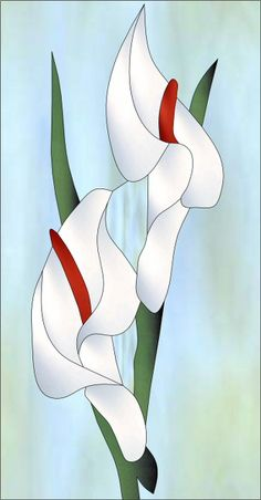 Cala Lily RV Decorative Window Film