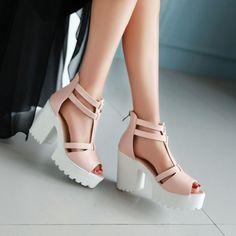 c599a52ce3e 15 Best chunky heel pumps images